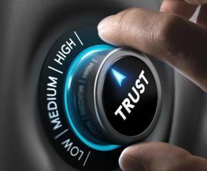 Trust me, trust is key!